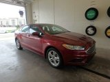2018 Ruby Red Ford Fusion SE #126967716