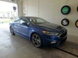 2018 Lightning Blue Ford Fusion Sport AWD #126967714