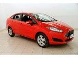 2015 Race Red Ford Fiesta SE Sedan #126968080