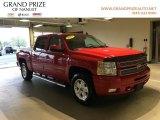 2013 Victory Red Chevrolet Silverado 1500 LTZ Crew Cab 4x4 #126967413