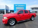 2012 Flame Red Dodge Ram 1500 Express Crew Cab 4x4 #126967796