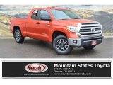 2017 Inferno Orange Toyota Tundra SR5 Double Cab 4x4 #126967511