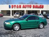 2000 Electric Green Metallic Ford Mustang V6 Coupe #12683933