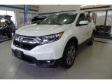 2018 White Diamond Pearl Honda CR-V EX AWD #127016241