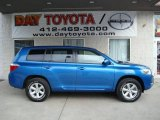 2008 Blue Streak Metallic Toyota Highlander 4WD #12670998