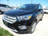 2018 Shadow Black Ford Escape Titanium 4WD #127037419