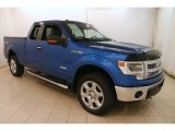 2014 Blue Flame Ford F150 FX4 SuperCab 4x4 #127037404