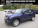 2018 Jetset Blue Jeep Renegade Latitude 4x4 #127037256