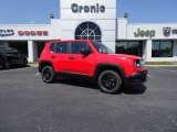 2018 Colorado Red Jeep Renegade Sport 4x4 #127057569