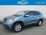 2014 Mountain Air Metallic Honda CR-V EX AWD #127057424