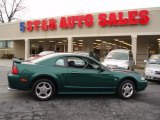 2003 Tropic Green Metallic Ford Mustang V6 Coupe #12683939