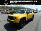 2018 Solar Yellow Jeep Renegade Trailhawk 4x4 #127057639