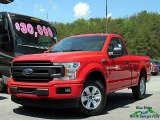 2018 Race Red Ford F150 XL Regular Cab #127057390