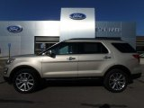2017 White Gold Ford Explorer Limited 4WD #127083666
