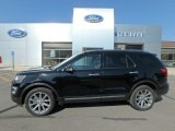 2017 Shadow Black Ford Explorer Limited 4WD #127083665