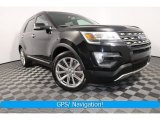 2016 Shadow Black Ford Explorer Limited 4WD #127083511