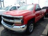2018 Red Hot Chevrolet Silverado 1500 LS Regular Cab 4x4 #127083591