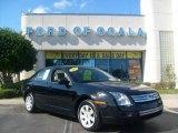 2008 Black Ebony Ford Fusion S #1261635