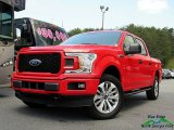 2018 Race Red Ford F150 STX SuperCrew 4x4 #127108089