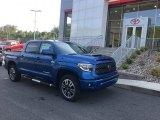 2018 Blazing Blue Pearl Toyota Tundra SR5 CrewMax 4x4 #127108185