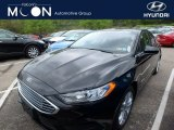 2018 Shadow Black Ford Fusion Hybrid SE #127108278