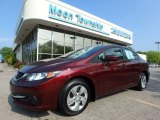 2015 Rallye Red Honda Civic LX Sedan #127169051