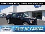 2018 Shadow Black Ford F150 XL SuperCrew 4x4 #127180686