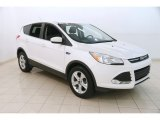 2014 White Platinum Ford Escape SE 1.6L EcoBoost 4WD #127180854