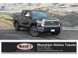 2018 Midnight Black Metallic Toyota Tundra Limited CrewMax 4x4 #127180594