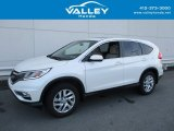 2015 White Diamond Pearl Honda CR-V EX #127180588