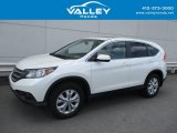 2014 White Diamond Pearl Honda CR-V EX AWD #127180587