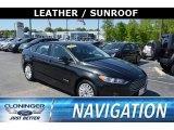 2015 Tuxedo Black Metallic Ford Fusion Hybrid SE #127180710