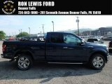 2018 Blue Jeans Ford F150 XLT SuperCab 4x4 #127202127