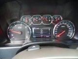 2018 Chevrolet Silverado 1500 LTZ Crew Cab 4x4 Gauges