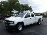 Summit White Chevrolet Silverado 1500 in 2018