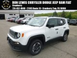 2018 Alpine White Jeep Renegade Sport 4x4 #127230919