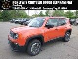 2018 Omaha Orange Jeep Renegade Sport 4x4 #127230917