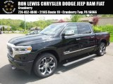 2019 Diamond Black Crystal Pearl Ram 1500 Limited Crew Cab 4x4 #127230915