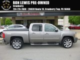 2013 Fairway Metallic Chevrolet Silverado 1500 LTZ Crew Cab 4x4 #127230939