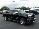 2018 Chevrolet Silverado 1500 High Country Crew Cab Front 3/4 View