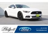 2017 Oxford White Ford Mustang V6 Coupe #127252882