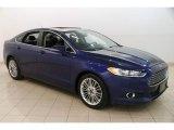 2015 Deep Impact Blue Metallic Ford Fusion SE #127252984