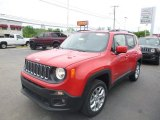 2018 Colorado Red Jeep Renegade Latitude 4x4 #127252859