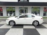 2010 Premium White Pearl Acura TSX V6 Sedan #127252912