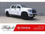 2018 Super White Toyota Tundra SR5 CrewMax 4x4 #127276742