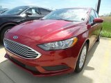 2018 Ruby Red Ford Fusion SE #127297520