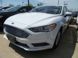 2018 Oxford White Ford Fusion S #127297518
