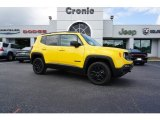 2018 Solar Yellow Jeep Renegade Sport 4x4 #127313279