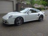 2007 Carrara White Porsche 911 Turbo Coupe #127313127