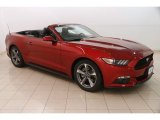 2015 Ruby Red Metallic Ford Mustang EcoBoost Premium Convertible #127313417